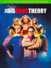 WARNER BROS 1000510641 The Big Bang Theory, Stagione 7 Cofanetto 3 dischi DVD ITA