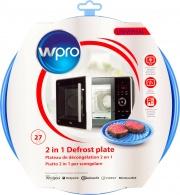 Wpro Piatto Microonde per Scongelare  Riscaldare Diametro 27 cm - DFG 270