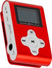 Xtreme Lettore Mp3 Sport radio FM micro sd 4 Gb Clip micro USB Rosso 27611R