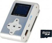 Xtreme 27611SILVER Lettore Mp3 Sport radio FM micro sd 4 Gb Clip micro USB Silver - 27611S