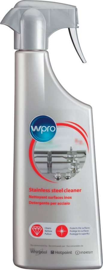 WHIRLPOOL Detergente Professionale Spray Superfici Acciaio Inox 500 ml - SSC212