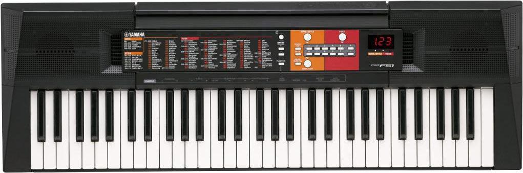 YAMAHA Tastiera Musicale 61 Tasti Mini Jack Amplificatore 2x2.5 W PSR-F51