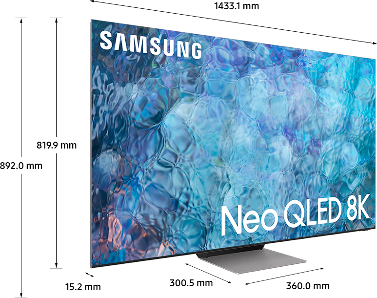 miniatura 3 - Smart TV 65 Pollici 8K Ultra HD QLED Tizen Smart Samsung QE65QN900ATXZT Series 9