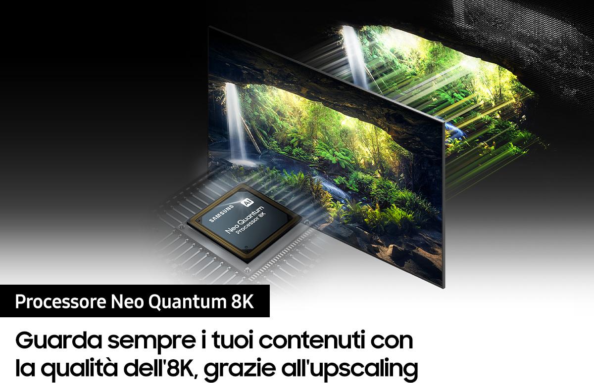 miniatura 5 - Smart TV 65 Pollici 8K Ultra HD QLED Tizen Smart Samsung QE65QN900ATXZT Series 9