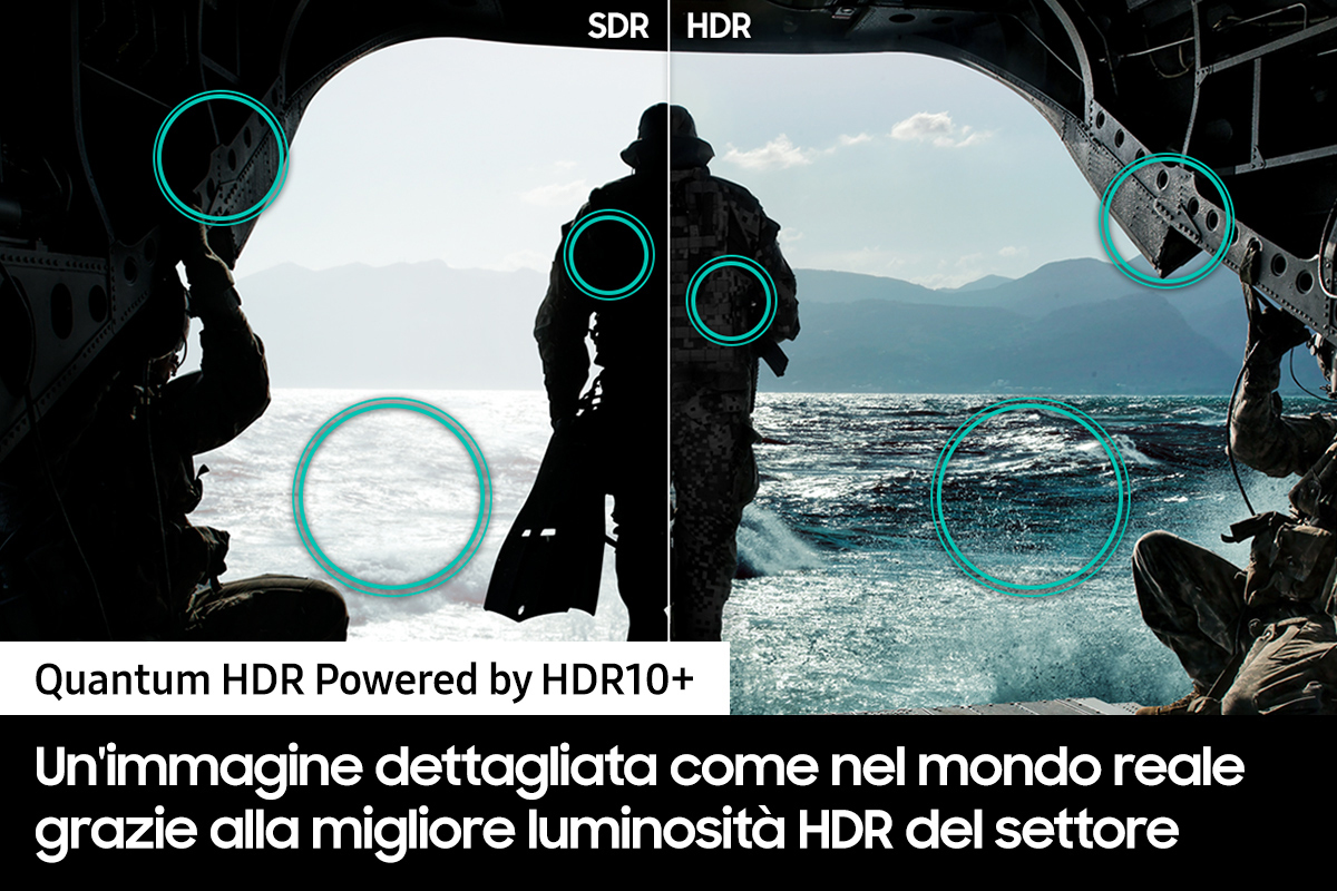 miniatura 7 - Smart TV 65 Pollici 8K Ultra HD QLED Tizen Smart Samsung QE65QN900ATXZT Series 9
