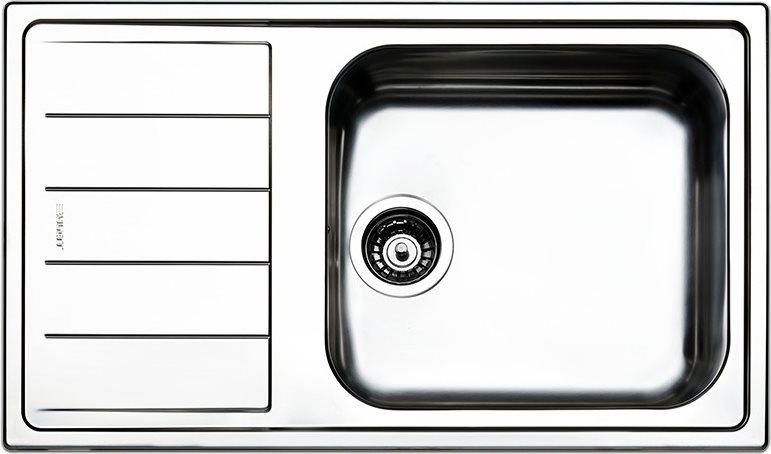 Dettagli su Lavello Cucina 1 Vasca Incasso Acciaio Inox Apell 86 cm  LNG861ILBC