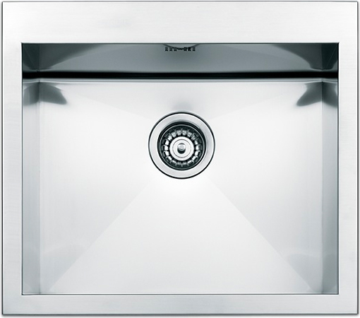 Lavello Cucina 1 Vasca Incasso Acciaio Inox Apell 50 cm Amalthea ...