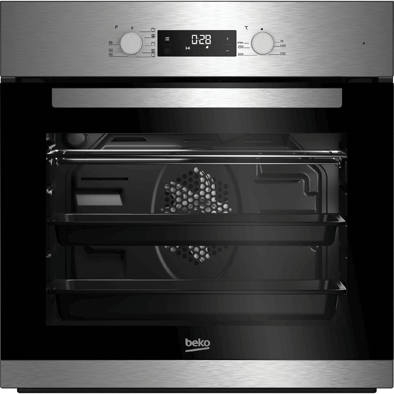 Forno incasso ventilato beko elettrico 66 litri a 60 cm inox bim22301x ebay - Forno elettrico ventilato da incasso ...