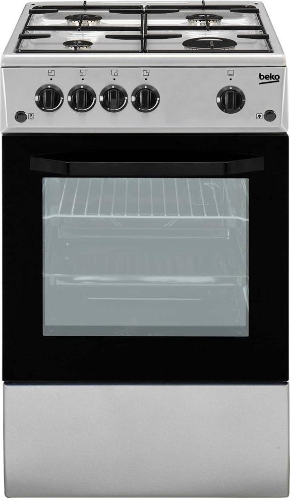 Cucina a gas 4 fuochi beko con forno elettrico 50x50 cm coperchio css42014fs ebay - Consumo gas cucina ...