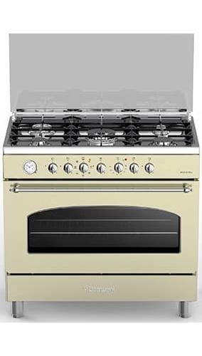 Cucina a gas 5 fuochi bompani con forno elettrico - Consumo gas cucina ...