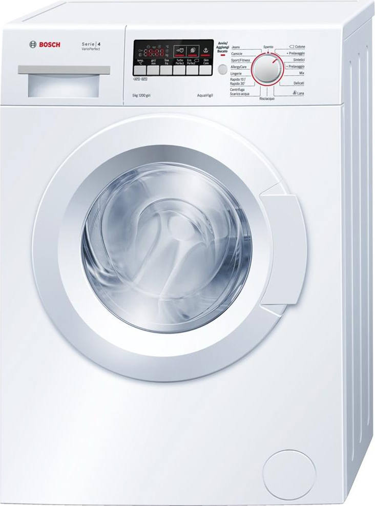 Wonderful Bosch Lavatrice Slim Carica Frontale 5Kg Classe A+++ 40 Cm 1200 Giri  WLG24225IT