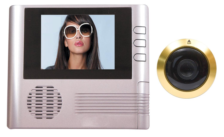 Spioncino digitale elettronico porta schermo lcd 2 5 oro for Spioncino digitale bravo