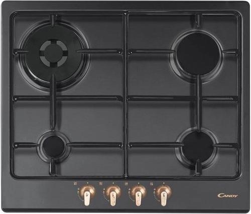 Candy Piano Cottura 4 Fuochi Incasso a Gas 60 cm Nero - CPGC64SWP GH ...