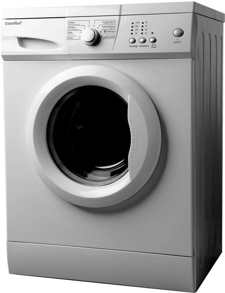 Comfee lavatrice slim carica frontale 6 kg classe a 45 cm for Peso lavatrice