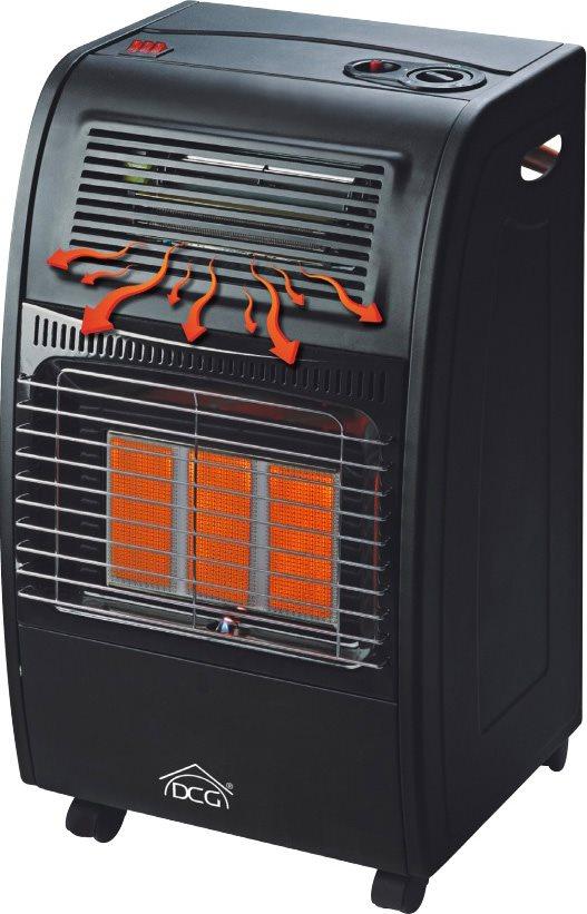 Dcg eltronic stufa a gas gpl infrarossi ventilata vano per bombola gh09 ebay - Bombola gas cucina prezzo ...