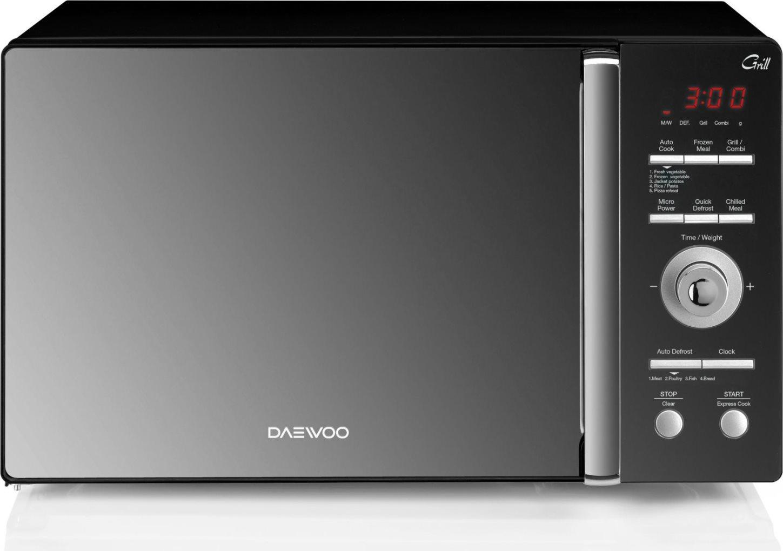 Forno microonde combianto 25 litri 900w nero grill daewoo kqg9gmr ebay - Forno elettrico con microonde ...