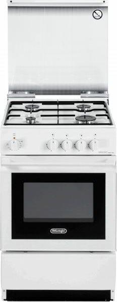 Cucina a gas 4 fuochi de longhi con forno elettrico grill 50x50 cm sesw554n ebay - Consumo gas cucina ...