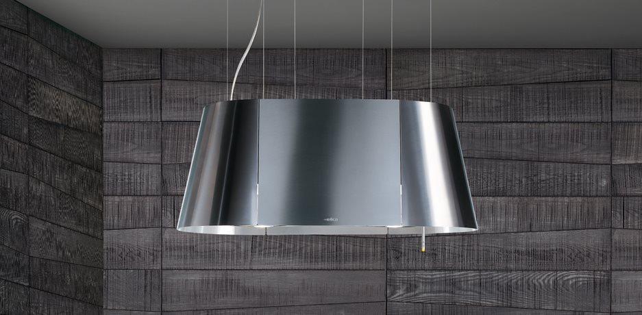Elica Cappa Cucina Filtrante Isola 90 cm x 50 cm Acciaio TWIN IX/F ...