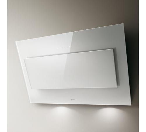 Elica cappa cucina filtrante parete 90 cm x 33 cm bianco - Cappa cucina 90 cm ...