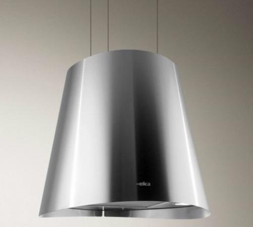 Cappa cucina isola elica filtrante sospesa acciaio juno ix - Cappa cucina filtrante ...