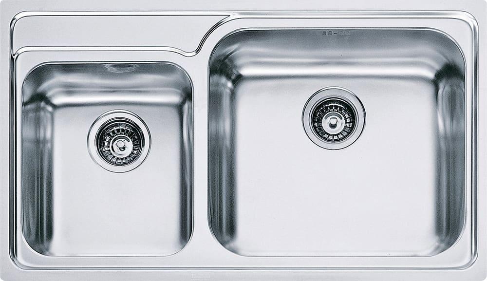 Lavello Cucina 2 Vasche Incasso Acciaio Inox Franke 86 cm Galassia ...