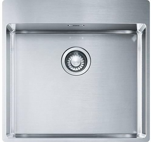 Lavello Cucina 1 Vasca Acciaio Inox Franke 53 cm Satinato Box BXX ...
