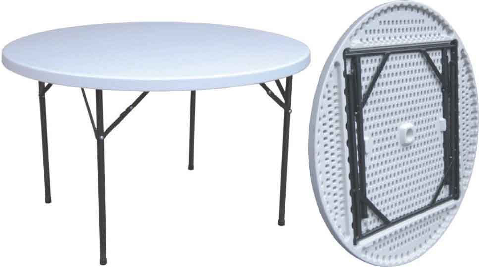 Tavoli In Plastica Pieghevoli.Tavolo Da Giardino Pieghevole Richiudibile Acciaio E Plastica