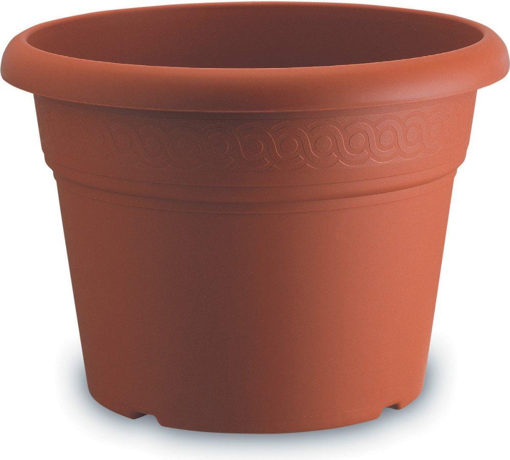 Vasi Per Esterno Plastica.Dettagli Su Vaso Plastica Tondo Per Piante Da Esterno Cm 60 Ruber