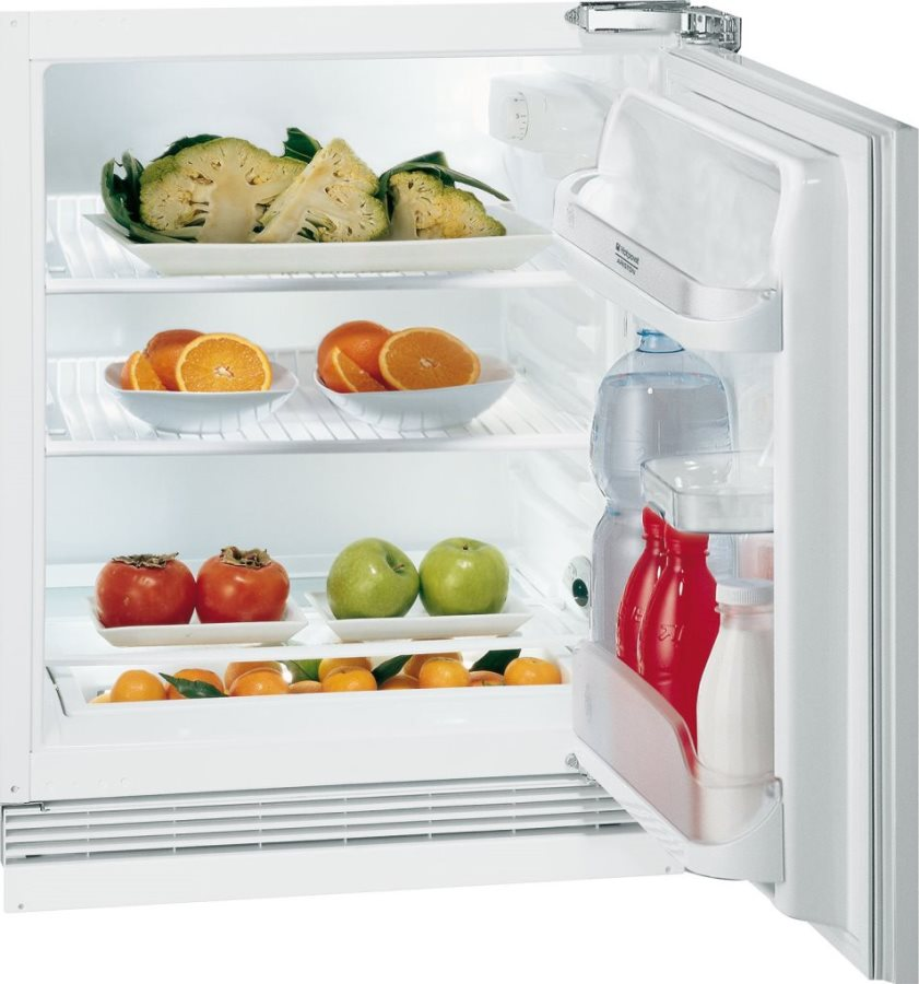 Mini Frigo Bar Frigorifero Piccolo Incasso Ariston 123 Litri A+ ...