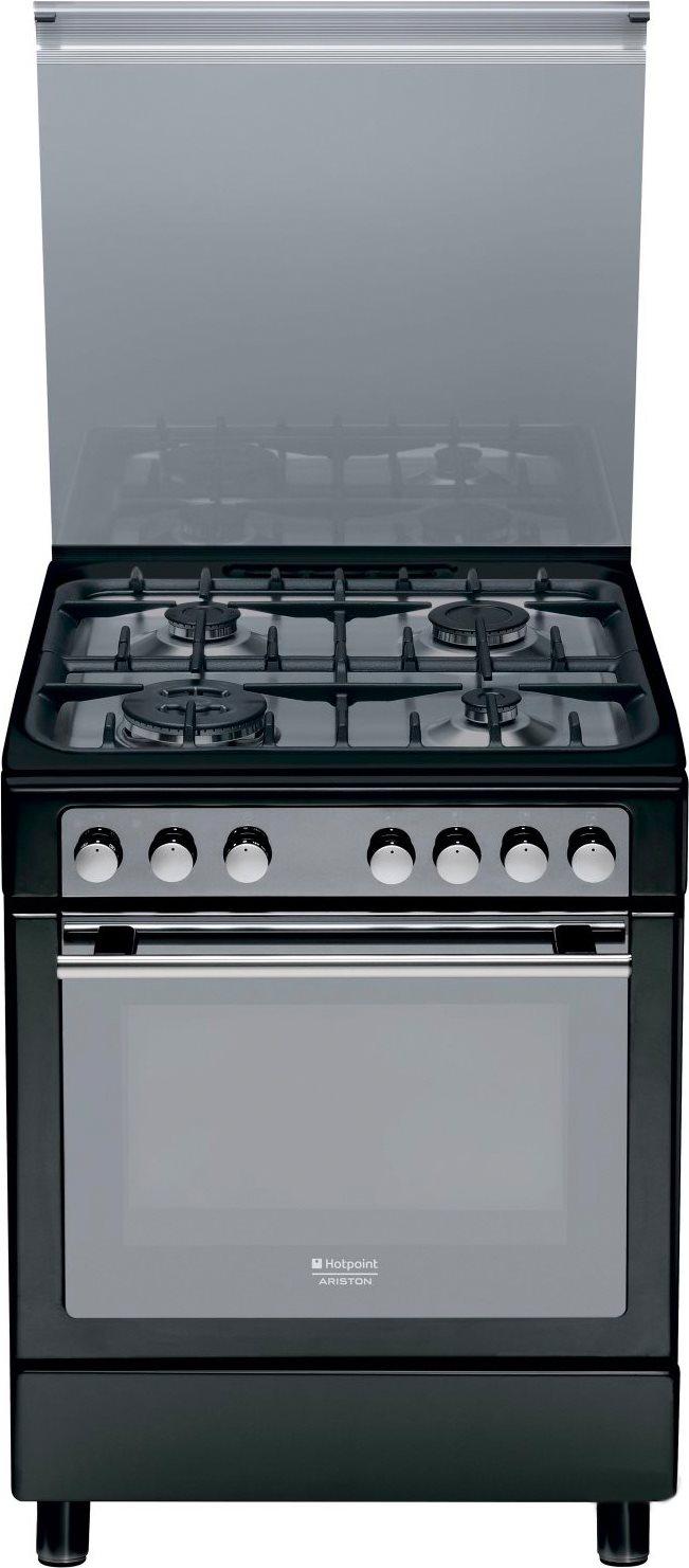 Dettagli su Hotpoint Ariston Cucina a Gas Forno Elettrico 4 Fuochi A  CX65S72 (A) IT/HA H