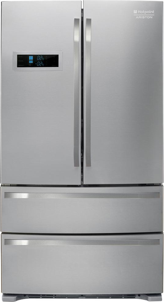 Dettagli su Frigorifero Americano Side by Side Hotpoint Ariston 425 Lt A+  No Frost FXD 822 F