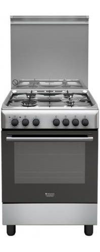 Hotpoint ariston cucina a gas 4 fuochi forno elettrico 60x60 cm h64mh2af x it ebay - Cucina a gas ariston ...
