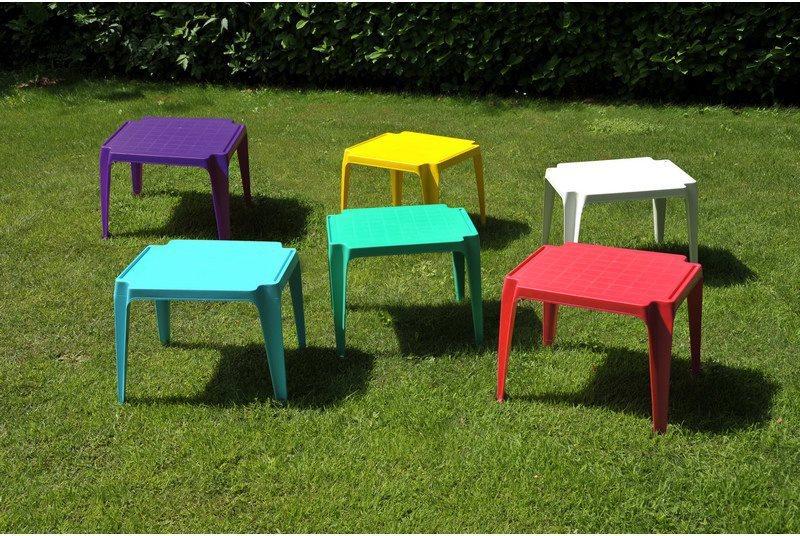 Tavolo da giardino in plastica bambini cm h rosso ipae p