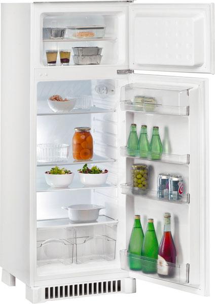 Indesit frigorifero incasso doppia porta 202 lt classe a - Frigoriferi da incasso misure ...
