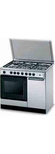 Cucina a gas 5 fuochi indesit forno elettrico ventilato 90x60 cm k9f71sb x i ebay - Consumo gas cucina ...