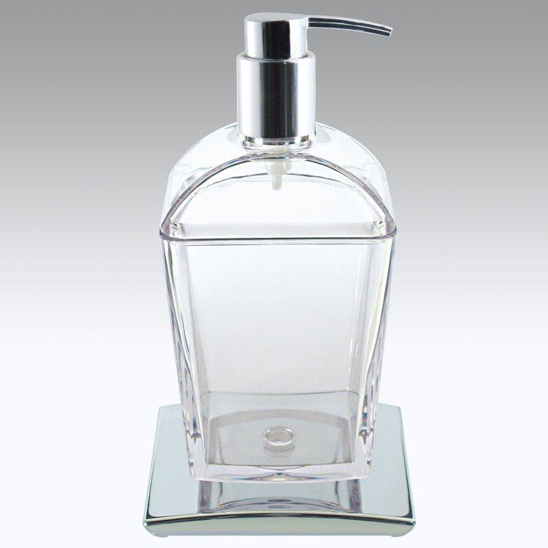 Set Accessori Bagno Tilda.Dettagli Su Dispenser Sapone Liquido Bagno Portasapone Erogatore Koh I Noor 5757kk Tilda