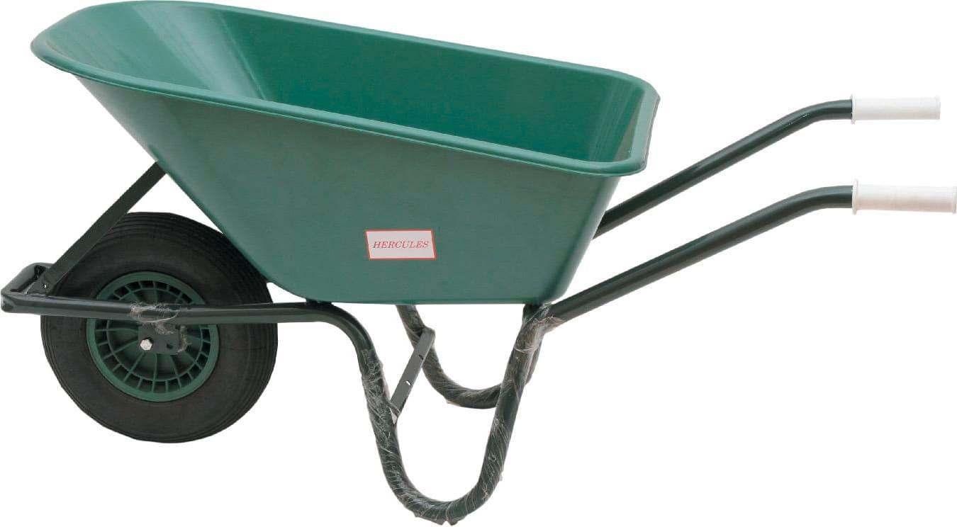 Vasche Da Giardino Plastica.Nbrand Carriola Giardino Vasca Plastica Ruote Pneumatica 100 Lt Wb