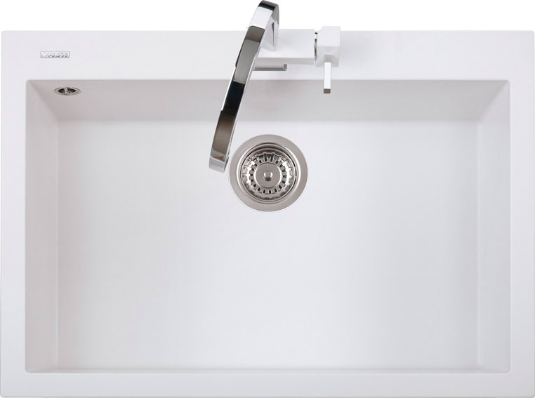 Plados lavello cucina incasso 1 vasca 76 cm ultragranit sahara ug55 on7610 ebay - Vasca cucina fragranite ...