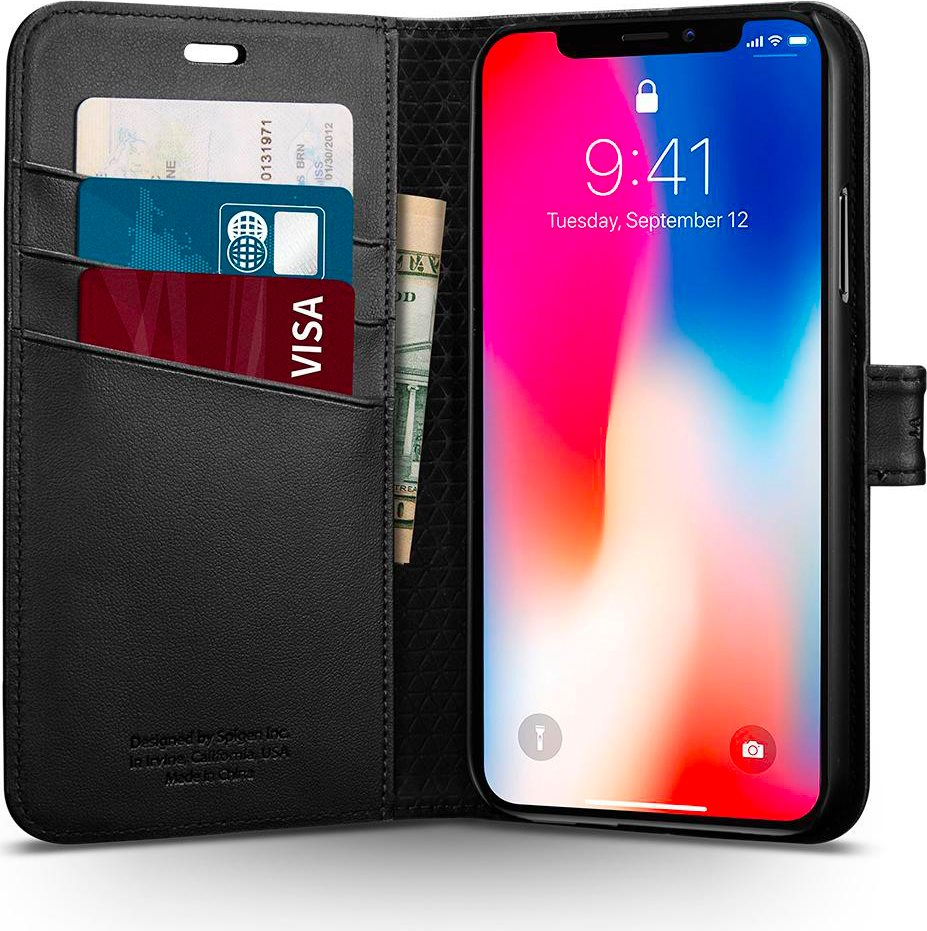custodia libro iphone x