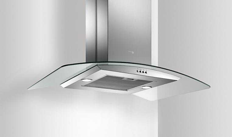 Turboair cappa cucina aspirante isola l 90 cm x 60 cm - Cappa cucina acciaio ...