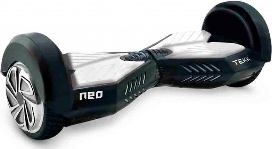 tekk hoverboard 2 ruote 12 km h speaker bluetooth bianco. Black Bedroom Furniture Sets. Home Design Ideas
