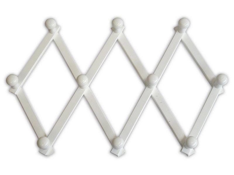Attaccapanni Da Parete Bianco.Dettagli Su Valdomo Appendiabiti Muro Parete Attaccapanni 10 Posti Cm 56x43 Bianco 140 02