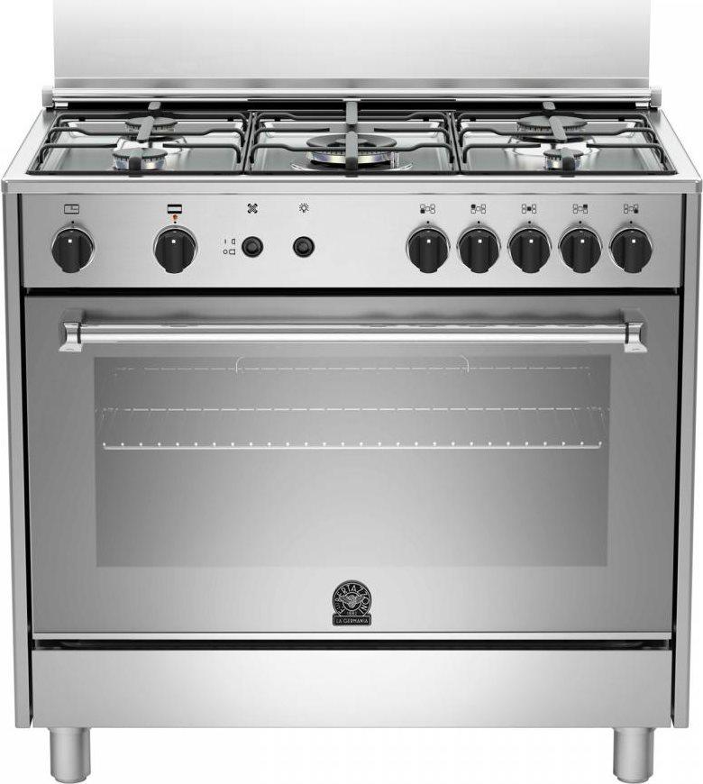 La germania cucina a gas 5 fuochi forno gas ventilato - Consumo gas cucina ...