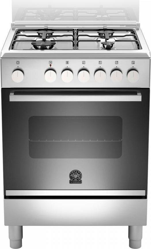 Cucina a gas 4 fuochi la germania forno elettrico ventilato 60x60cm ftr604mfesxe ebay - Consumo gas cucina ...