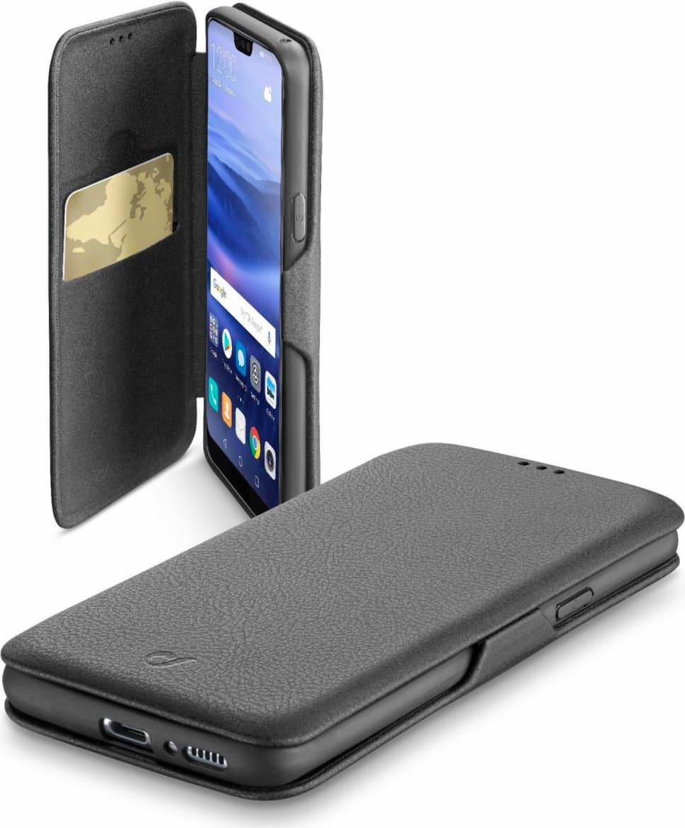 les clients d'abord commander en ligne style attrayant Dettagli su Cover per Smartphone Huawei P20 Lite Custodia  BOOKCLUTCHP20LITEK Cellular Line