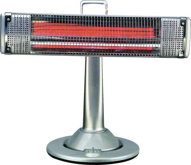 Stufa elettrica infrarossi carbonio 900w oscillante globex for Stufa catalitica o infrarossi